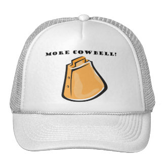 KRW Funny More Cowbell! Mesh Hats