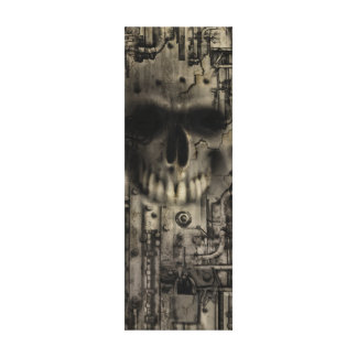KRW Ghost in the Machine Wrapped Canvas Canvas Print