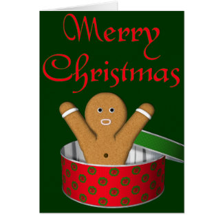KRW Gingerbread Surprise Christmas Card