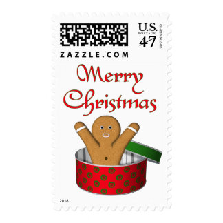 KRW Gingerbread Surprise Christmas Postage