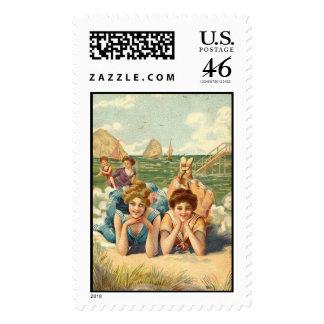 KRW Girlfriends Postage Stamp