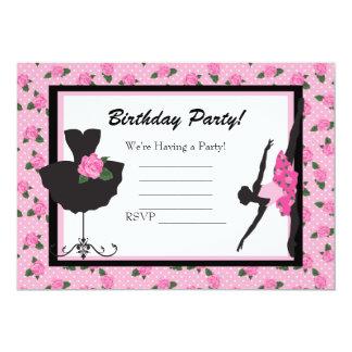 blank birthday invitation