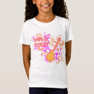 KRW Girl's Rock Guitar Grunge T-Shirt