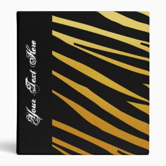 KRW Gradient Tiger Stripe Back to School Binder*