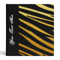 KRW Gradient Tiger Stripe Back to School Binder* 3 Ring Binder