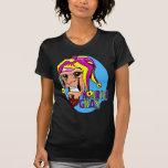 KRW Grinning Mardi Gras Jester T Shirts