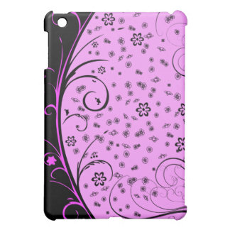 KRW Grunge Floral in Pink  Cover For The iPad Mini