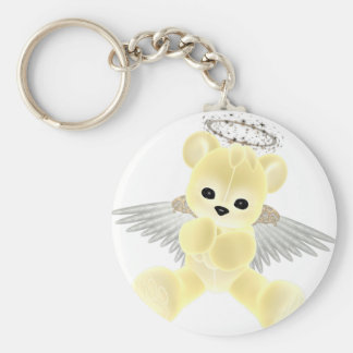 KRW Guardian Angel Bear Keychain
