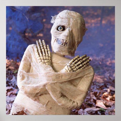 KRW Halloween Decor Poster Russel the Mummy