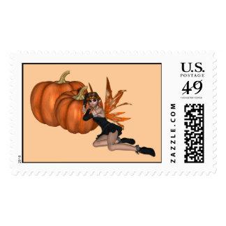 KRW Halloween Faerie Stamp
