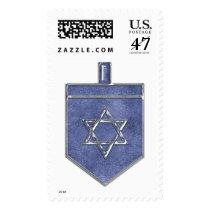KRW Hanukkah Dreidel Stamp