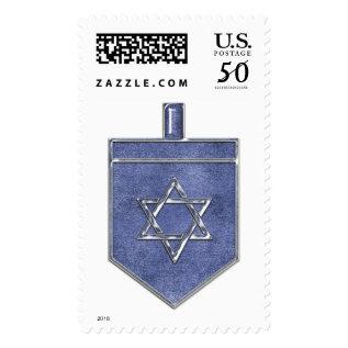 Krw Hanukkah Dreidel Stamp at Zazzle