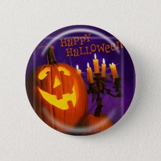 KRW Happy Halloween Jack O' Lantern Pin