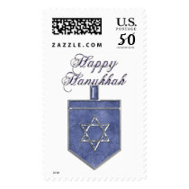 KRW Happy Hanukkah Dreidel Stamp