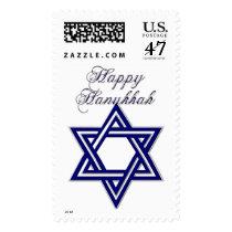 KRW Happy Hanukkah Star of David Postage