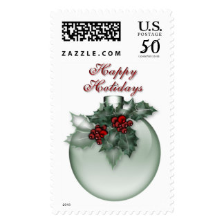 KRW Happy Holidays Ornament Stamp