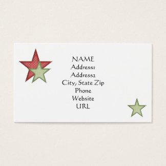 KRW Happy Santa Holiday Custom Business Card