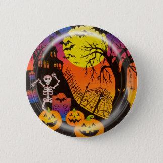 KRW Haunted House Scene Halloween Pin