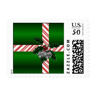 KRW Holiday Wrap Postage Stamp