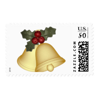 KRW Holly Bells Christmas Stamp