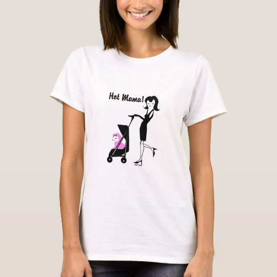 KRW Hot Mama - Pink T-Shirt