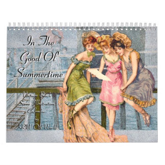 KRW In the Good Ol' Summertime Vintage 2012 Calendar