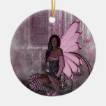 KRW In the Midnight Mist Faery Fantasy Ornament