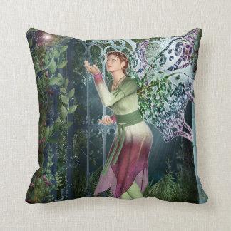 KRW Into the Night Faerie Fantasy Decor Pillow