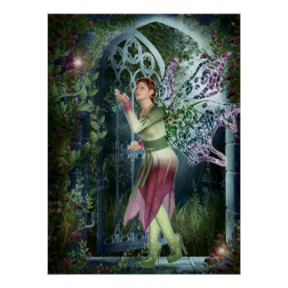 KRW Into the Night Fantasy Art Large Size Poster