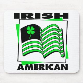 KRW Irish American Green Flag Mouse Pad