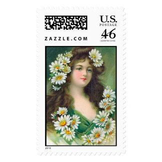 KRW Irish Lass Stamp