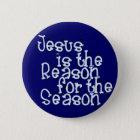 KRW Jesus is the Reason for the Season Pinback Button