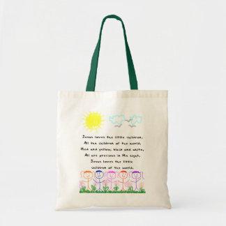 KRW Jesus Loves the Little Children Tote Bag
