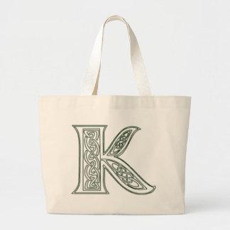 KRW - K - Celtic Monogrammed Tote Bag