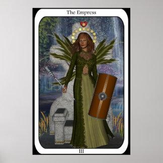 KRW la carta de tarot de la hada de la emperatriz Impresiones