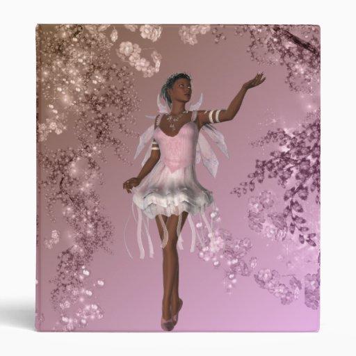 Krw lana african american fairy fantasy binder zazzle