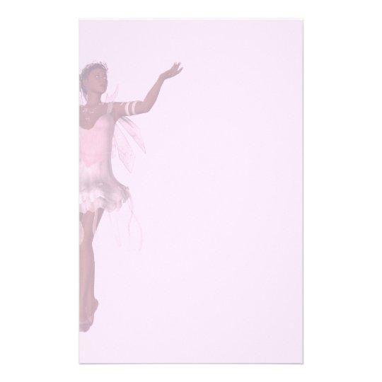 KRW Lana Fairy Fantasy Faded Pink Stationery