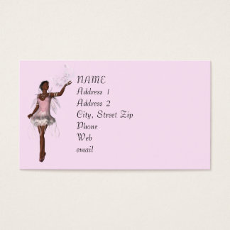 KRW Lana Pink Fantasy Custom Business Card