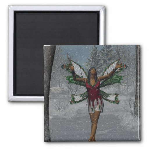 KRW Let It Snow Christmas Faery Magnet