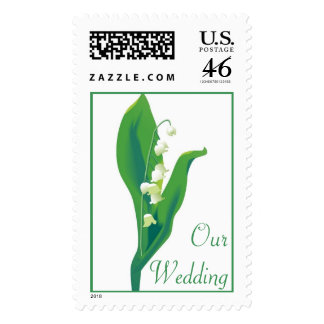 KRW Lily of the Valley Wedding Stamp