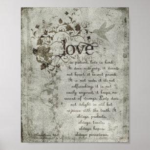 love is patient posters photo prints zazzle