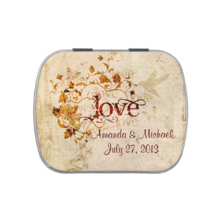 KRW Love Is Series Candy Favor Tin Candy Tins