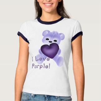 KRW Love Purple Tee Shirt