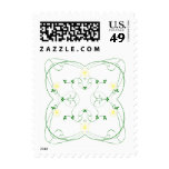 KRW Lovely Yellow Floral Stamp