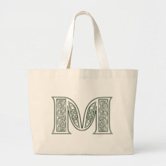 KRW - M - Celtic Monogrammed Tote Bag