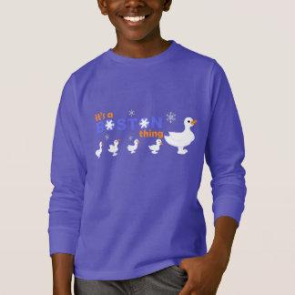 KRW Make Way for Snowmen Boston Kids Sweatshirt