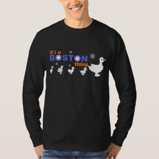 KRW Make Way for Snowmen Boston Long Sleeve Tee