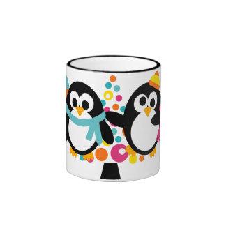 KRW Merry Peguin Holiday Mug