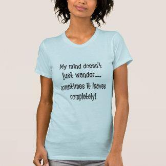 KRW Mind Wanders Funny T-Shirt