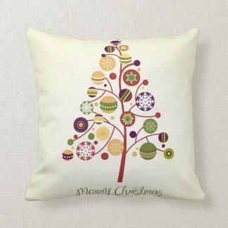 KRW Modern Stylized Christmas Tree Pillow